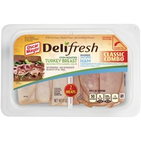 Oscar Mayer Delifresh Combos Turkey Breast and Ham