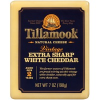 Tillamook Vintage Extra Sharp White Cheddar Natural Cheese
