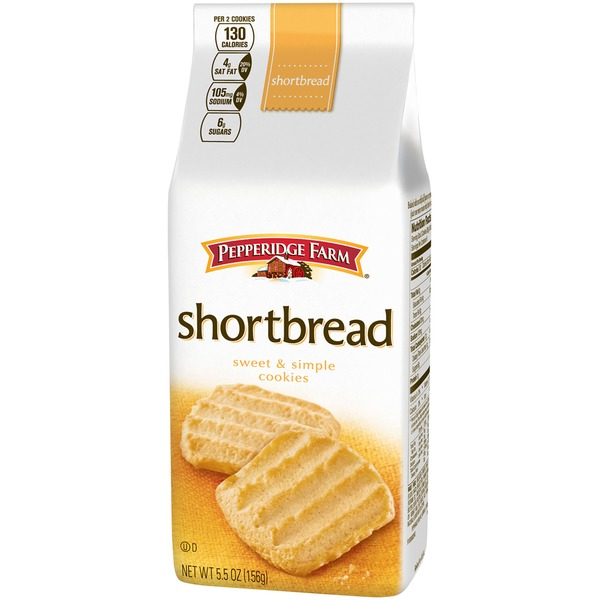 Pepperidge Farm Cookies Sweet & Simple Shortbread Cookies