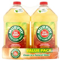 Murphy's Oil Soap Wood Cleaner, Original - 32 fl oz, 2 Count