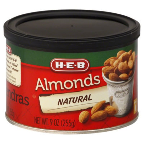 H-E-B Natural Almonds