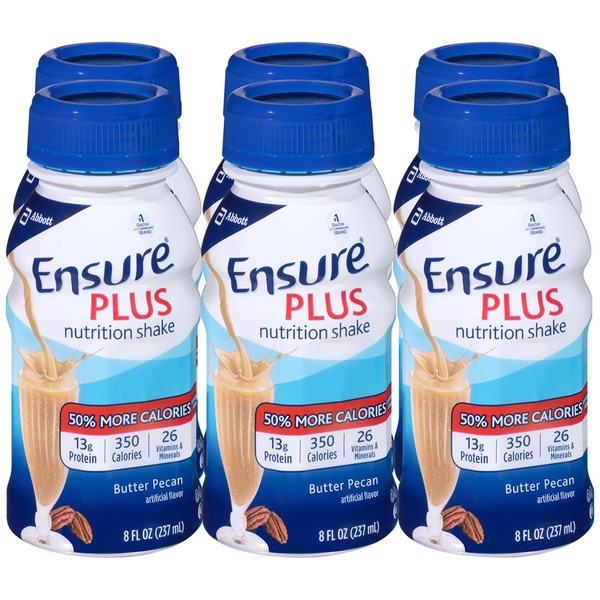 Ensure Plus Butter Pecan Nutrition Shake