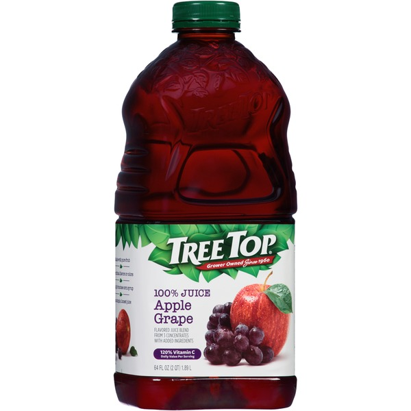Tree Top Apple Grape 100% Juice