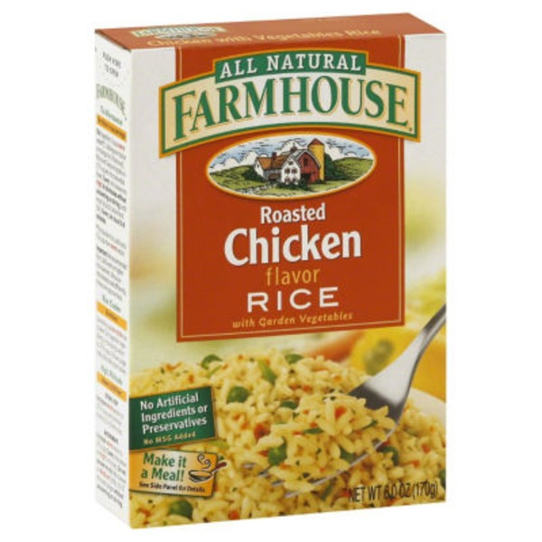 Farmhouse Rice, Roasted Chicken Flavor