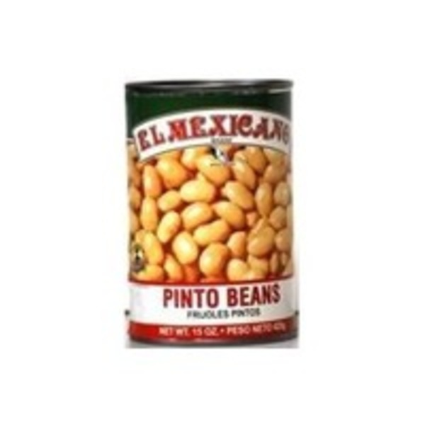 El Cazo Mexicano Canned Whole Pinto Beans Frijol Pinto
