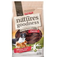 Natures Goodness Bbq Beef Recipe With Tomato Dog Treats