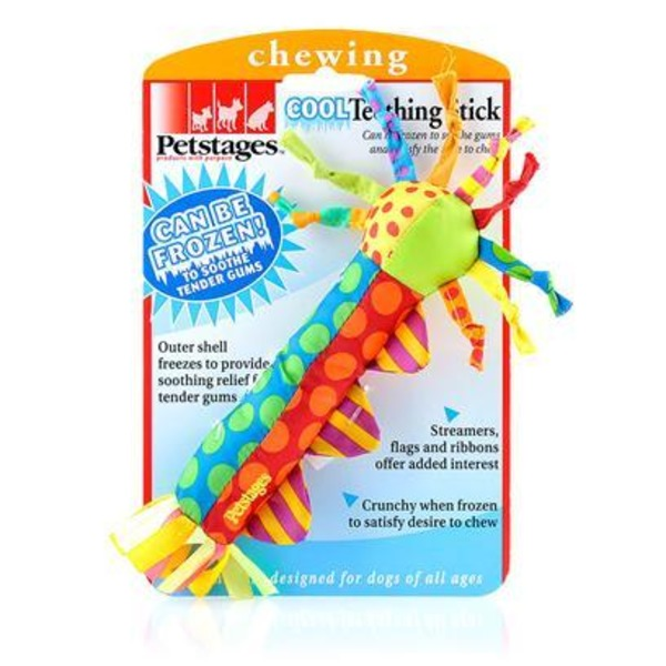 Petstages Cool Teething Stick Dog Toy