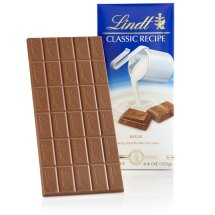 Lindt Classic Recipe Milk Chocolate Candy Bar, 4.4 Oz
