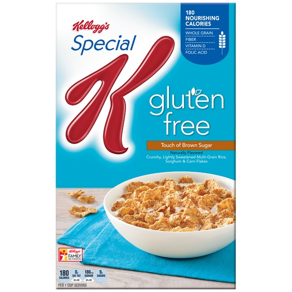 Kellogg's Special K Gluten Free Touch of Brown Sugar Cereal