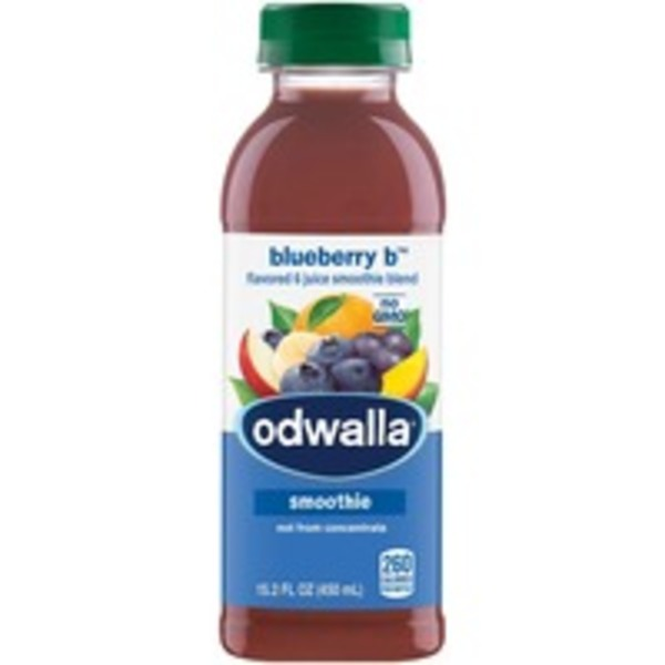 Odwalla Blueberry Monster Flavored Smoothie