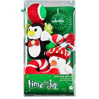 Holiday Nice Dog Gift Set Medium & Large