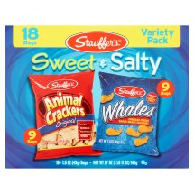 Stauffer's Sweet & Salty Variety Pack, 1.5 oz, 18 count