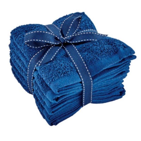 Simply Spa Assorted Colors Washcloths
