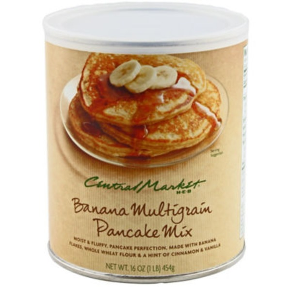 Central Market Banana Multigrain Pancake Mix