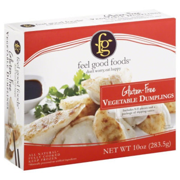 Feel Good Foods Gluten Free Vegetable Dumplings