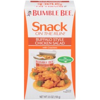 Bumble Bee Snack On The Run! Buffalo Style with Crackers Chicken Salad