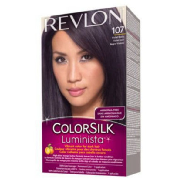 Revlon Colorsilk Luminista Violet Black Permanent Color 107