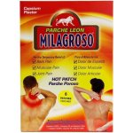 Parche Leon Milagroso Pain Relief Hot Patch, 6 ct