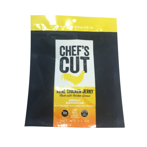 Chef's Cut Jerky, Real Chicken, Honey Barbecue