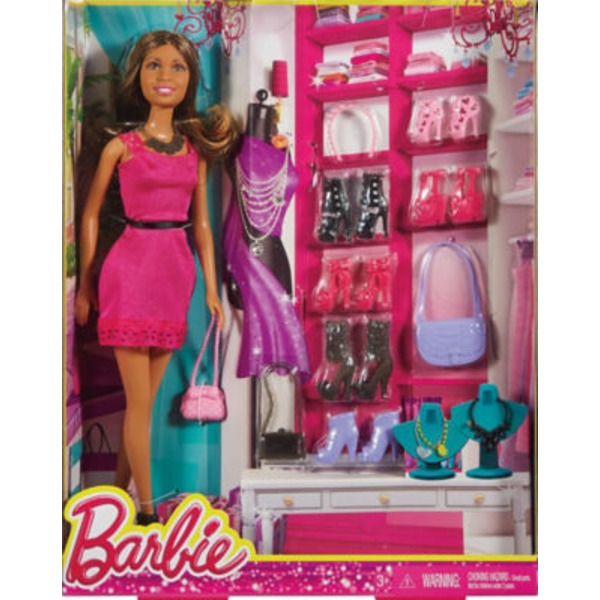 Mattel Barbie Doll And Accessory Gift Pack
