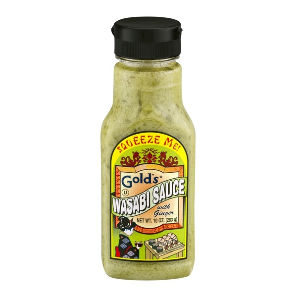 Gold's Wasabi Sauce With Ginger