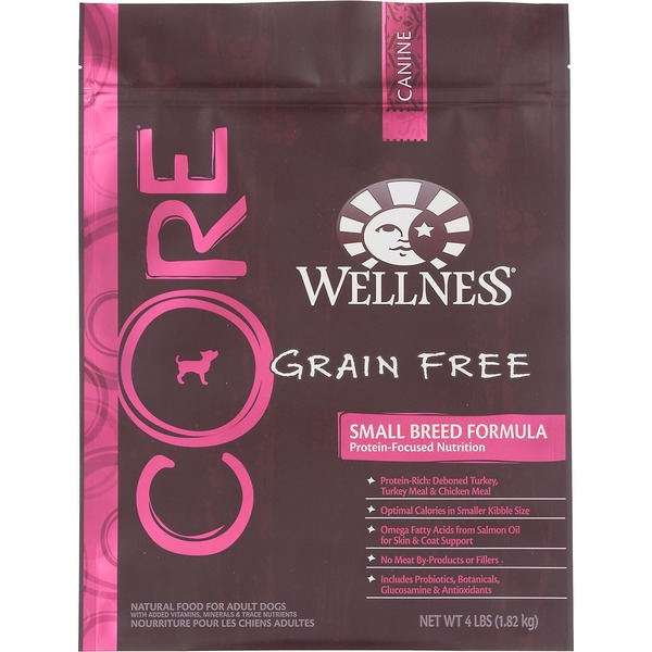 Wellness Core Grain Free Small Breed Formula