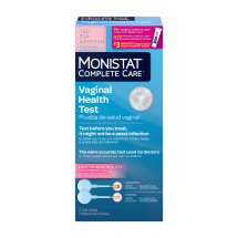 Monistat Complete Care Vaginal Health Test & Itch Relief - 2 CT