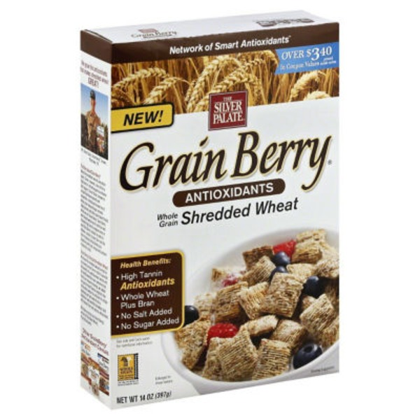 The Silver Palate Cereal, Whole Grain, Shredded Wheat