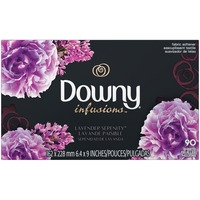 Downy Infusions Ultra Downy Infusions Lavender Serenity Fabric Softener Sheets 90 count Fabric Enhancers