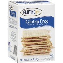 Glutino Gluten Free Table Crackers, 7 oz