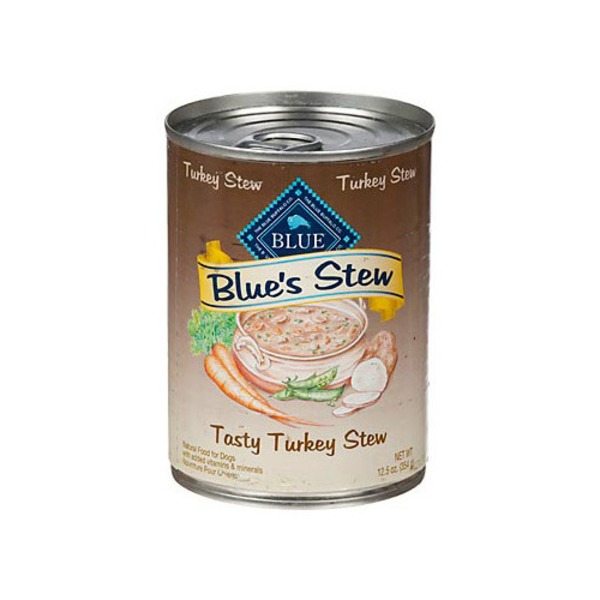 Blue Buffalo s Stew Tasty Turkey Stew Adult Canned Dog Food