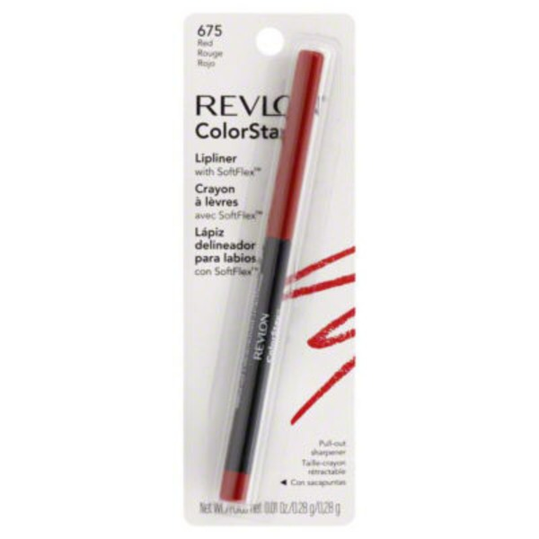 Revlon Color Stay Lipliner With Softflex Red 675