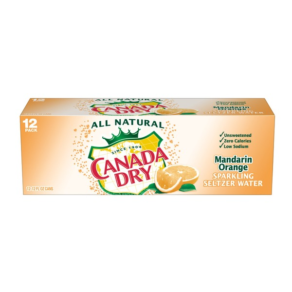 Canada Dry Mandarin Orange Sparkling Water
