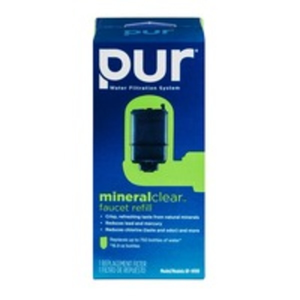 Pur Water Filtration System Mineral Clear Faucet Refill