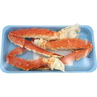 Cooked Wild Red King Crab Legs And Claws