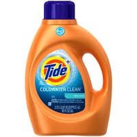 Tide Coldwater Clean Fresh Scent HE Turbo Clean Liquid Laundry Detergent, 92 oz, 48 loads Laundry