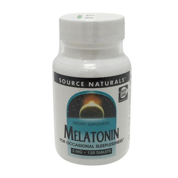 Source Naturals Melatonin 3 mg Tablets
