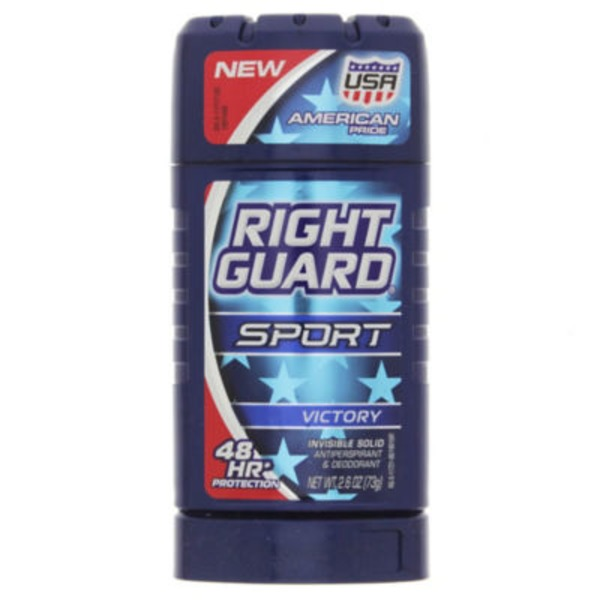 Right Guard Sport Victory Invisible Solid Antiperspirant