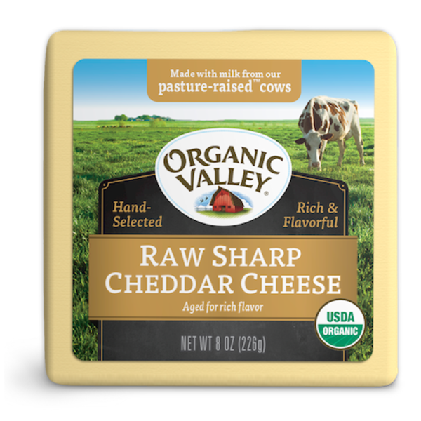 Organic Valley Kingdom Cheddar Cheese
