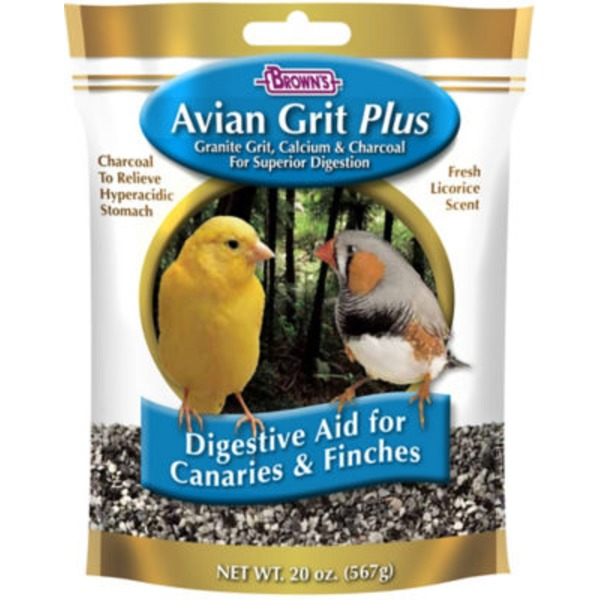 F.M. Brown's Avian Grit Plus for Finches & Canaries