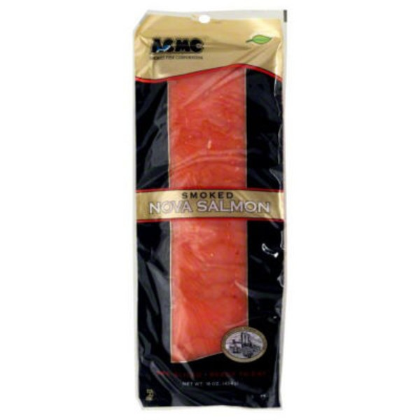 Acme Smoked Fish Co. Smoked Nova Salmon Pre-Sliced Ready To Eat