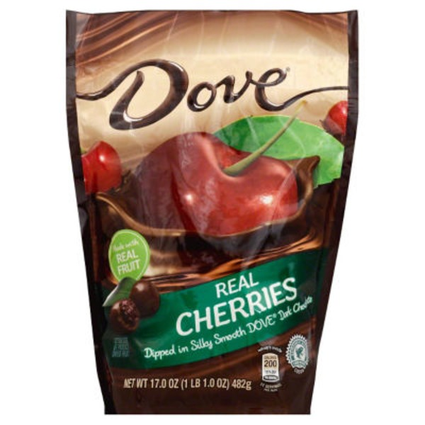 Dove Chocolate Dove Real Cherries