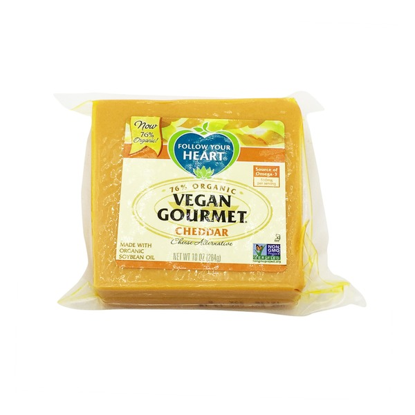 Follow Your Heart 78% Vegan Gourmet Cheddar