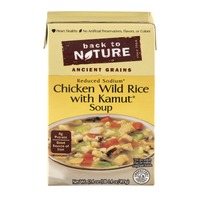 Back to Nature Ancient Grains Soup Chicken & Wild Rice With Kamut