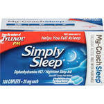 Simply Sleep Nighttime Sleep Aid Caplets