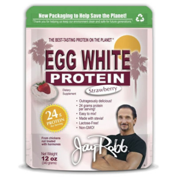 Jay Robb Egg White Protein Strawberry