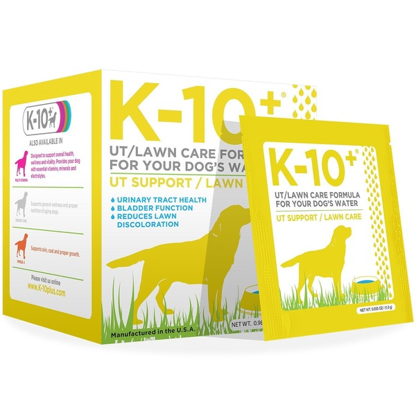 K 10 Plus Urinary Tract Support & Lawn Care Dog Supplement