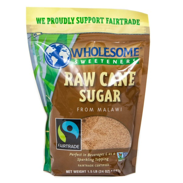 Wholesome Sweeteners Raw Cane Sugar