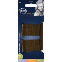Goody Bobby Pins, Brown 03705, 90 count