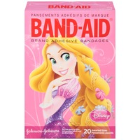 Band Aid® Brand Adhesive Bandages Princesses Decorated